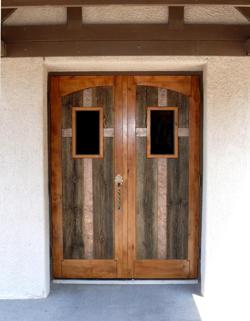 & New Haven Church Doors